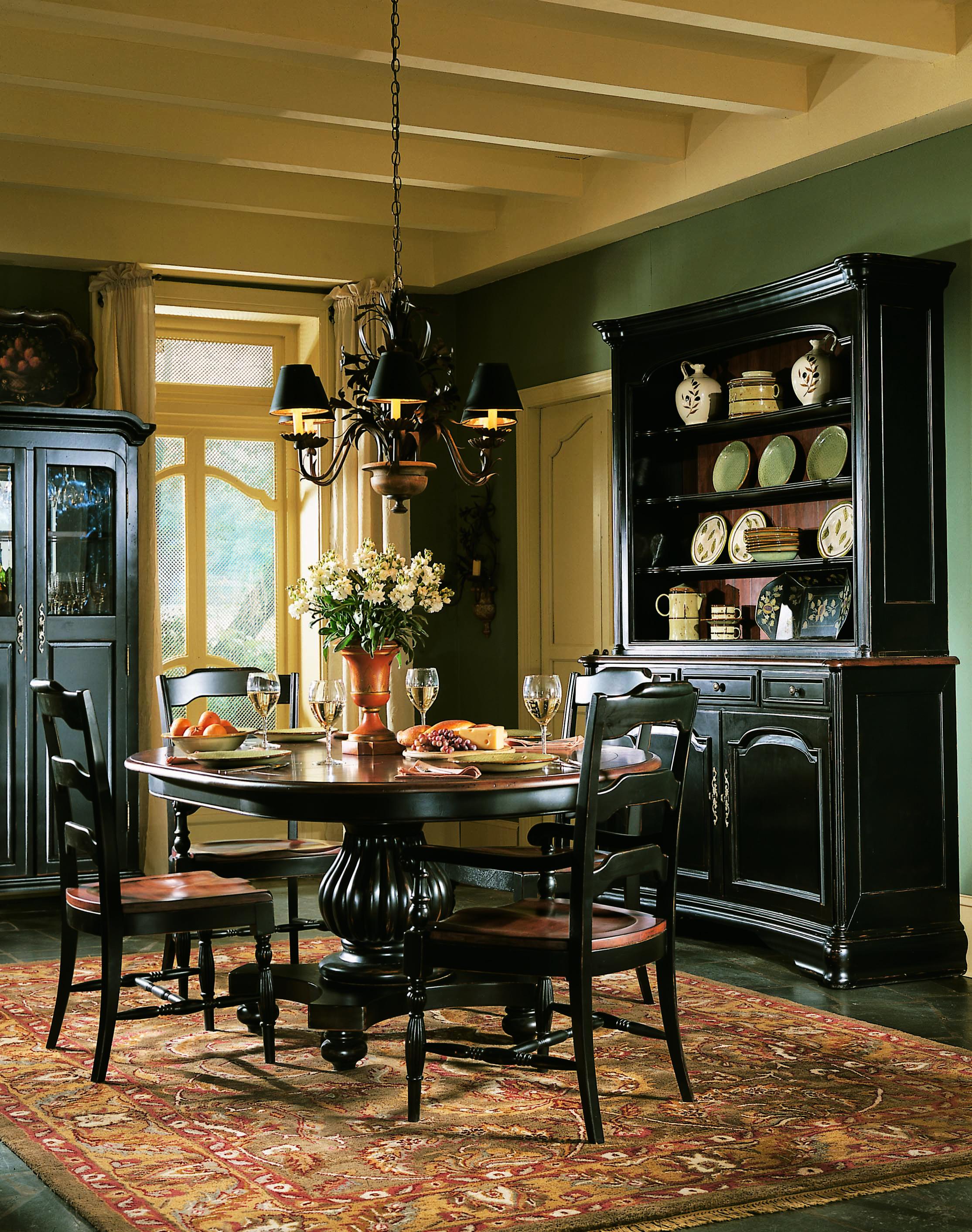Hooker Furniture Indigo Creek Dining Side Chair-2 per carton ...