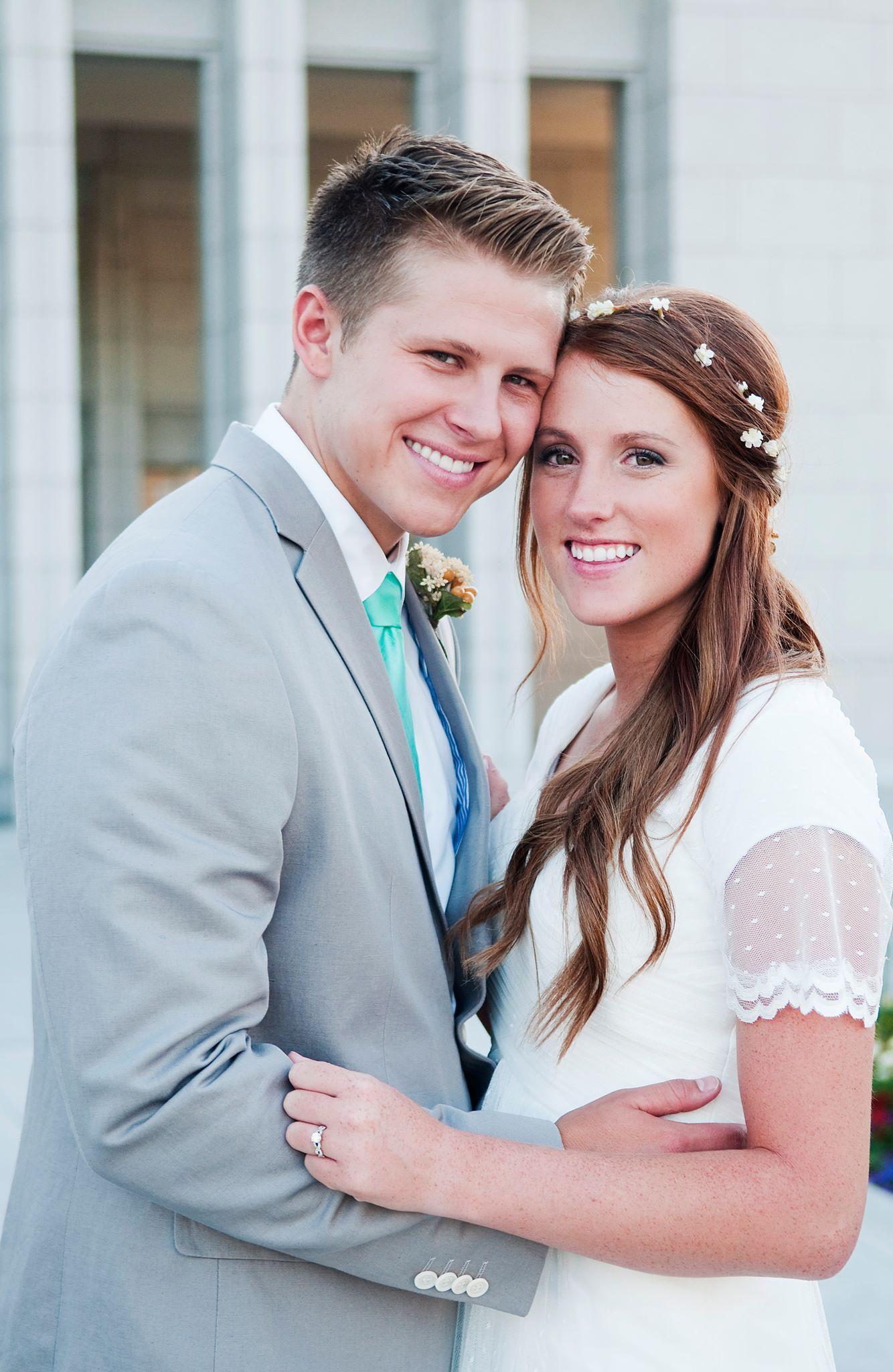 Sleeves by Chantel Lauren Designs, Modest Wedding Dress, flutter ...