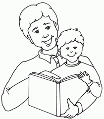 Fathers Day Clipart Black And White Writing Teaching Emphasis