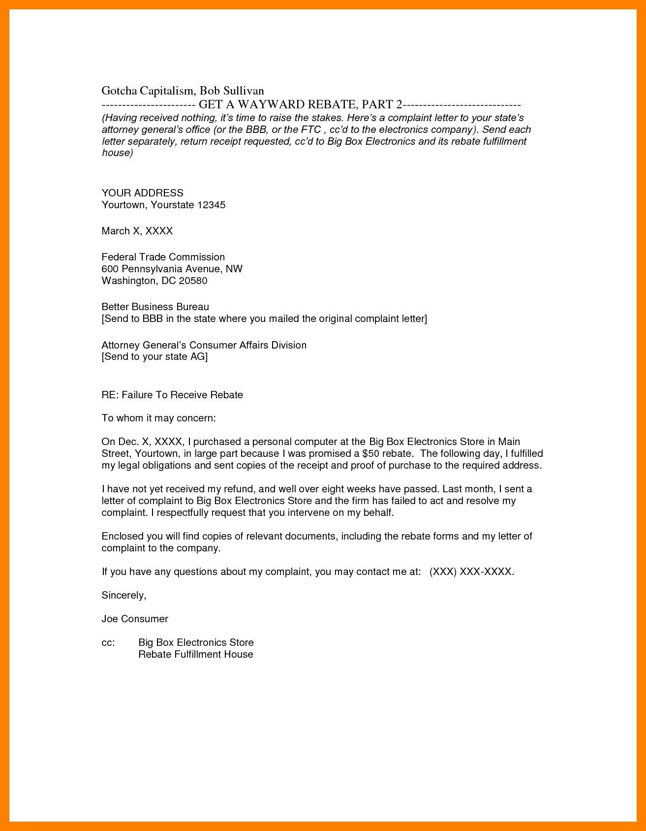 The Best Writing A Business Letter With Enclosures And Cc And View
