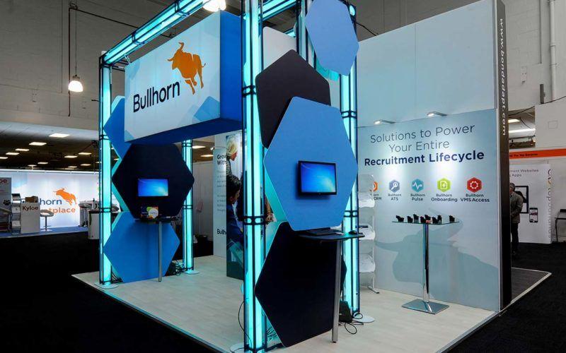 Exhibition Stand Agency : Bullhorn @ recruitment agency expo 2017 exhibition stand design