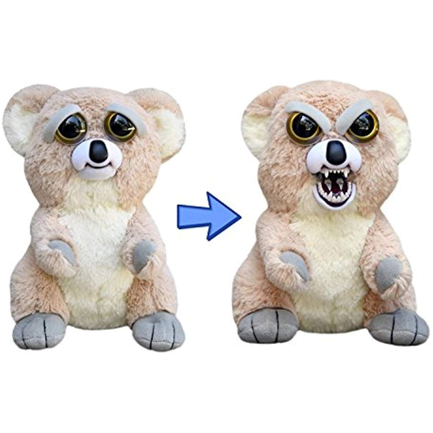 Feisty Pets Liza Loca The Koala Goes From Awww To Ahhh With A Squeeze Click Image For More Details This Animal Plush Toys Plush Animals Bear Toy