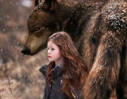 Jake and his mate,Renesmee.