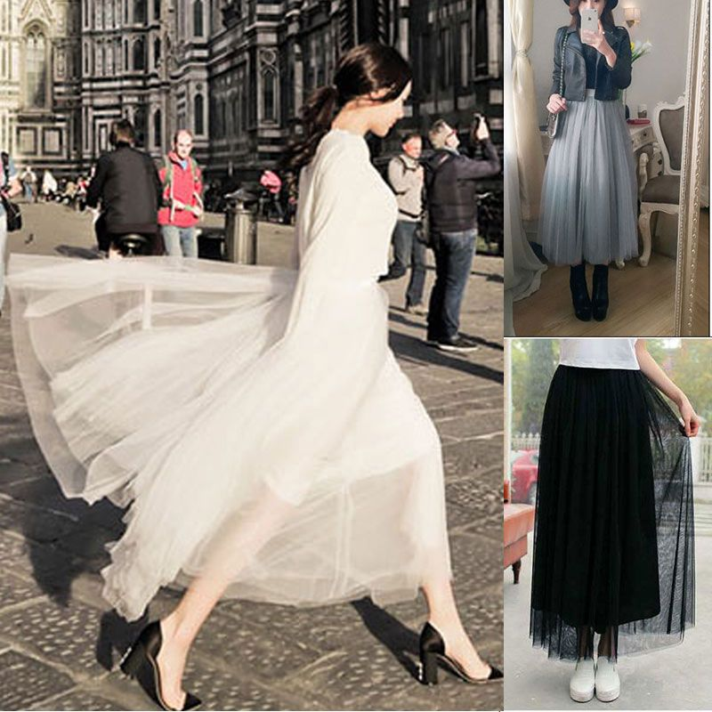 Kleid lang 60er