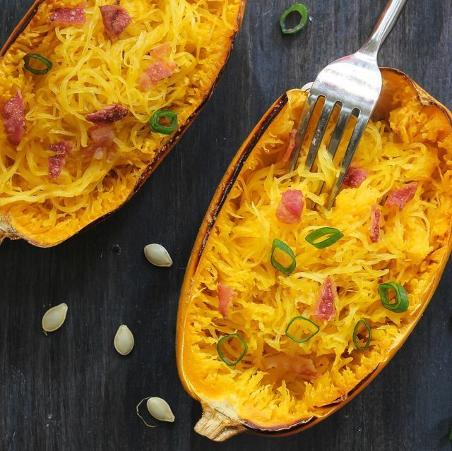 The Best Spaghetti Squash Recipes That Won't Make You Miss Pasta #stuffedspaghettisquash spaghetti squash recipes #stuffedspaghettisquash