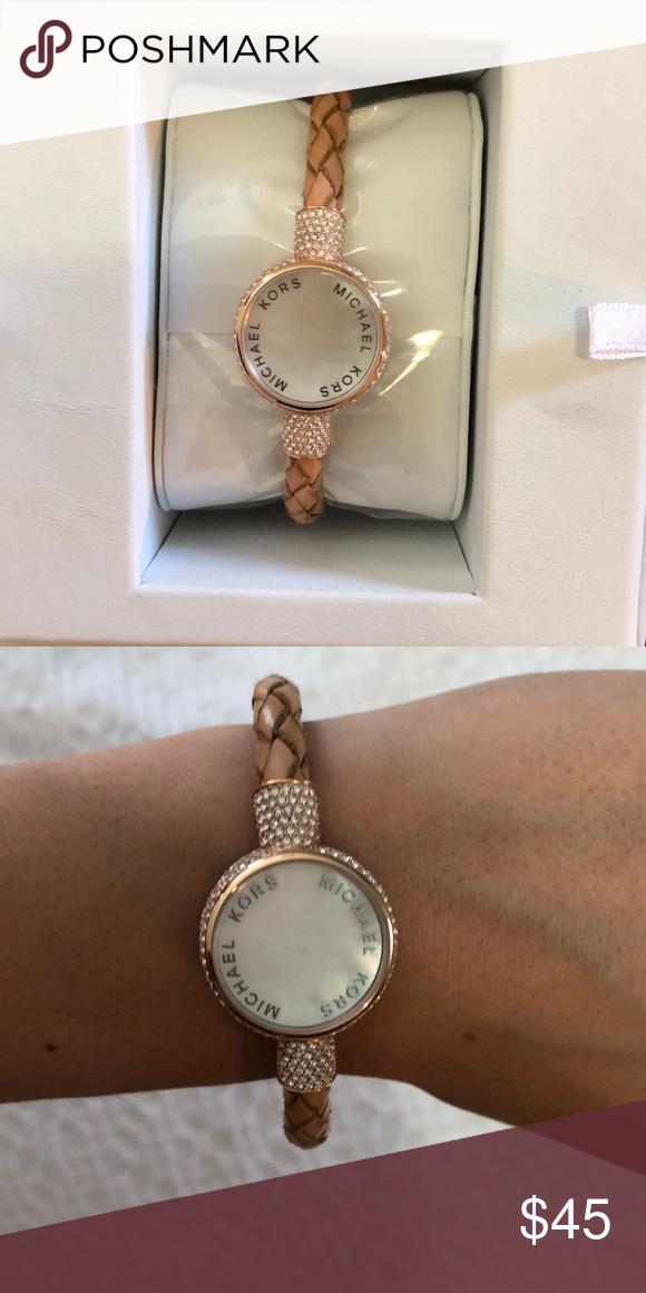 Fitness Tracker In Box Michael Kors Jewelry Fitness Tracker Bracelet Watch