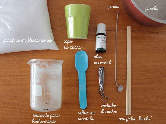 DIY: Vela de citronela na xícara