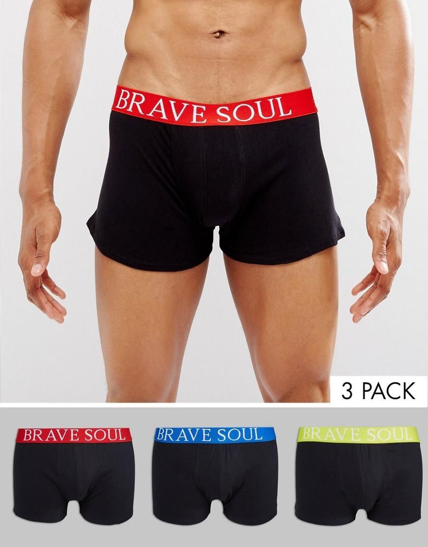 4dac682a7  ASOS -  Brave Soul Brave Soul 3 Pack Boxers - Multi - AdoreWe.com