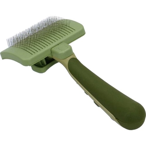 Safari Self Cleaning Medium Small Slicker Brush For Dogs W417 Safari Coastal Cat Grooming Dog Cleaning Dog Grooming Supplies