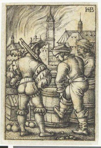 Beham The sentinel | Landsknecht in 2019 | 16th century