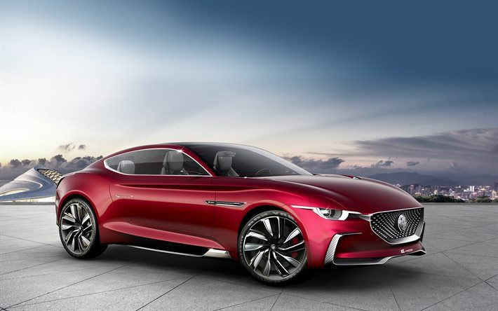 Download Wallpapers Mg E Motion Concept 2017 Electric Sports Car