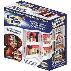 """As Seen On Tv Spice Rack Check Out """"swivel Store Spice Rack Organizer  As Seen On Tv"""" From"""
