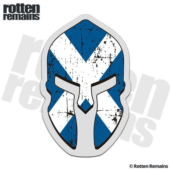 Scotland Flag Spartan Decal Scottish Saltire St Andrew S Cross Sticker Scottish Tattoos Scotland Tattoo St Andrews Cross