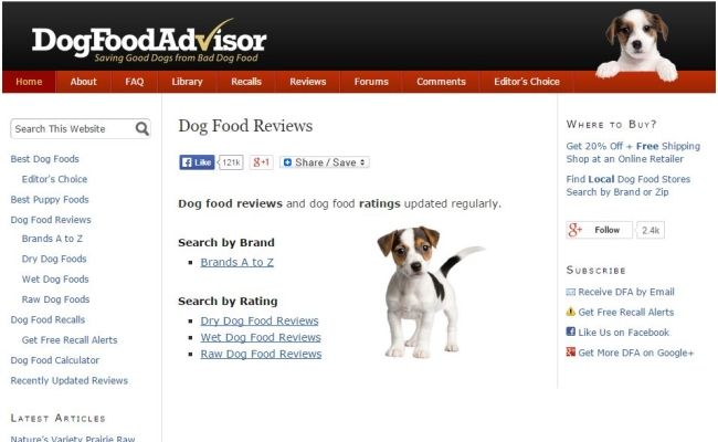 Dog Food Advisor Review Is It Reliable Dog Food Recipes