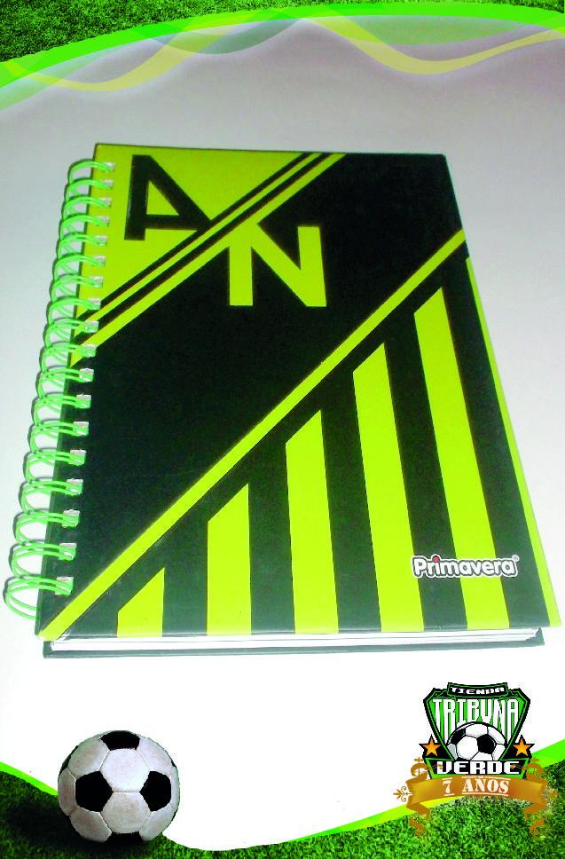 Cuaderno Argollado 5 Materias Atlético Nacional  Producto Oficial  Precio $ 13.000    Tamaño: 25 x 18 cm