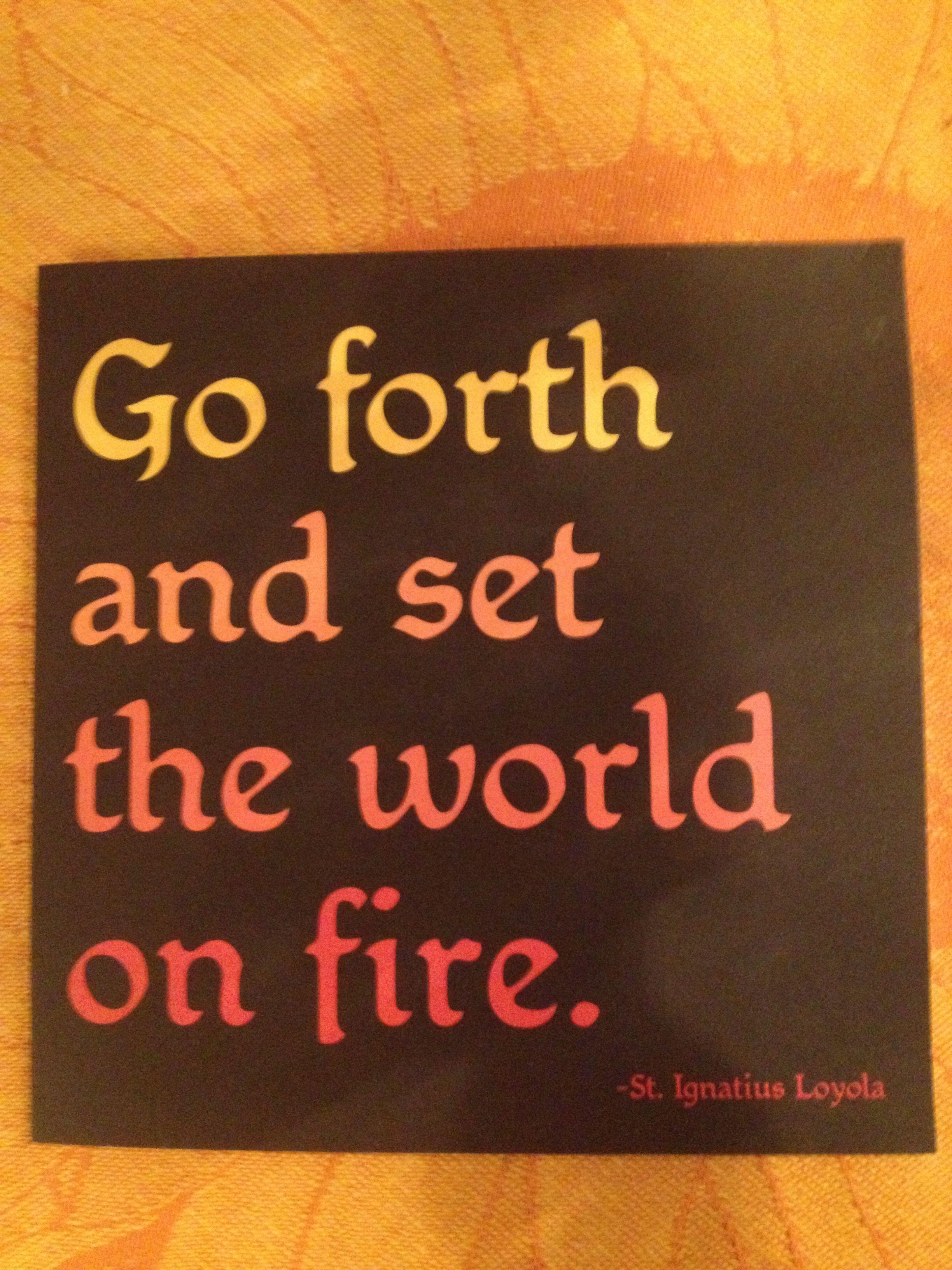 St Ignatius Quotes Stignatius Of Loyola  Catholicism  Pinterest  Saints And