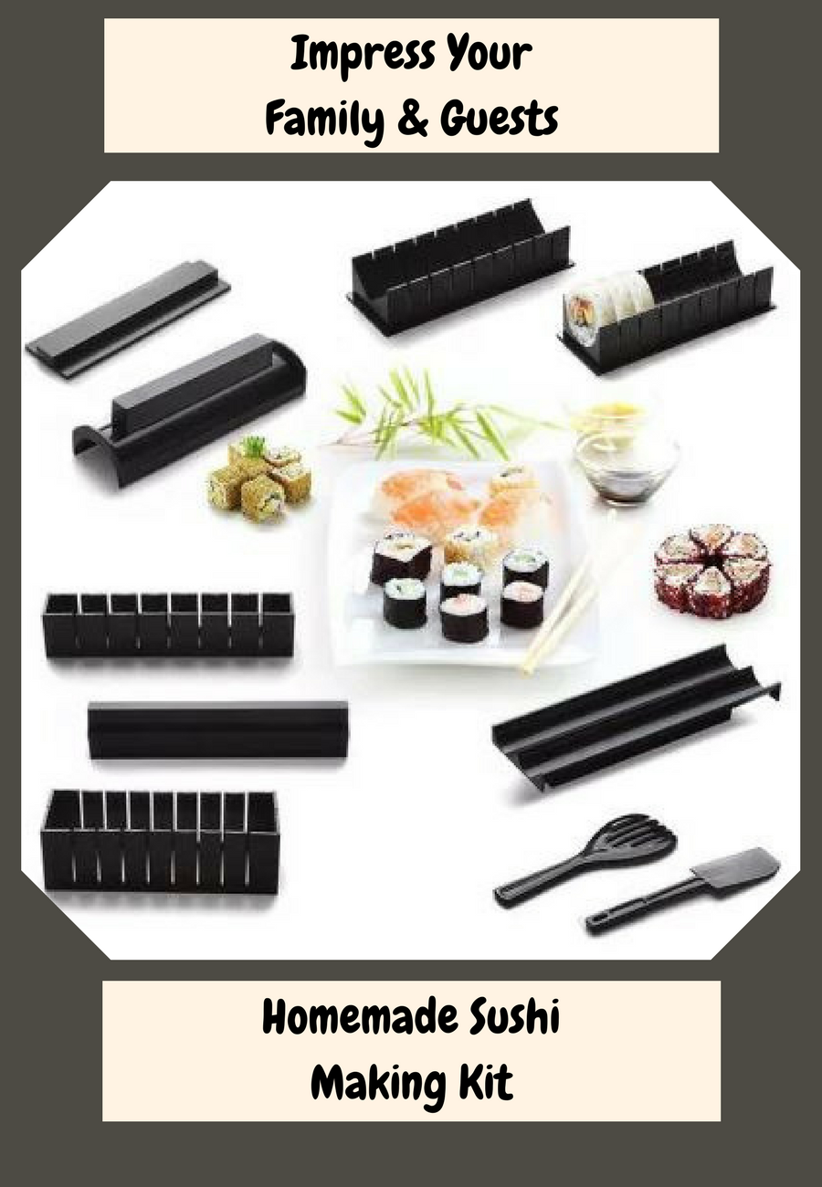 Your guests & family will enjoy sushi made with this Homemade Sushi ...