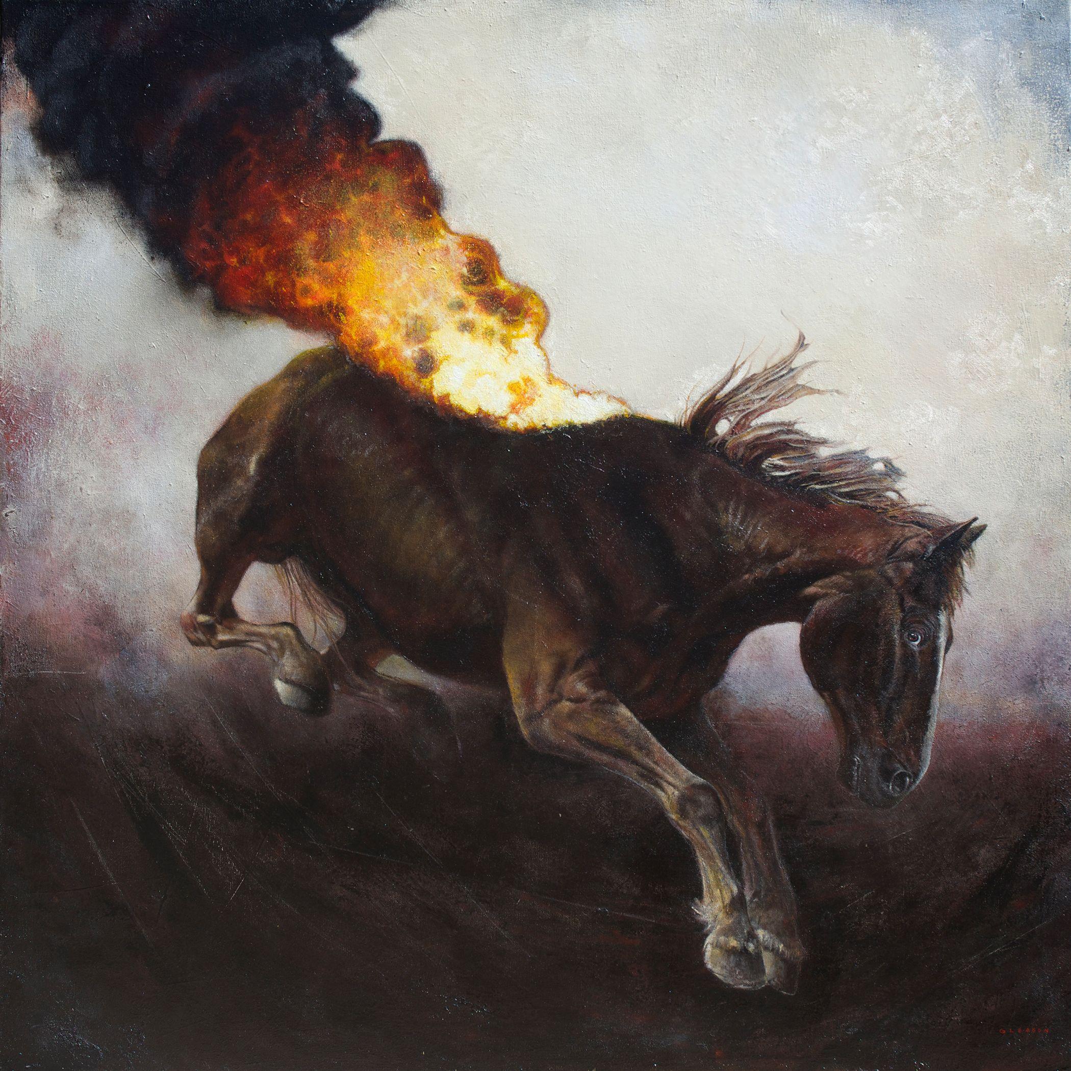 Gleason, Painting, Oil On Canvas