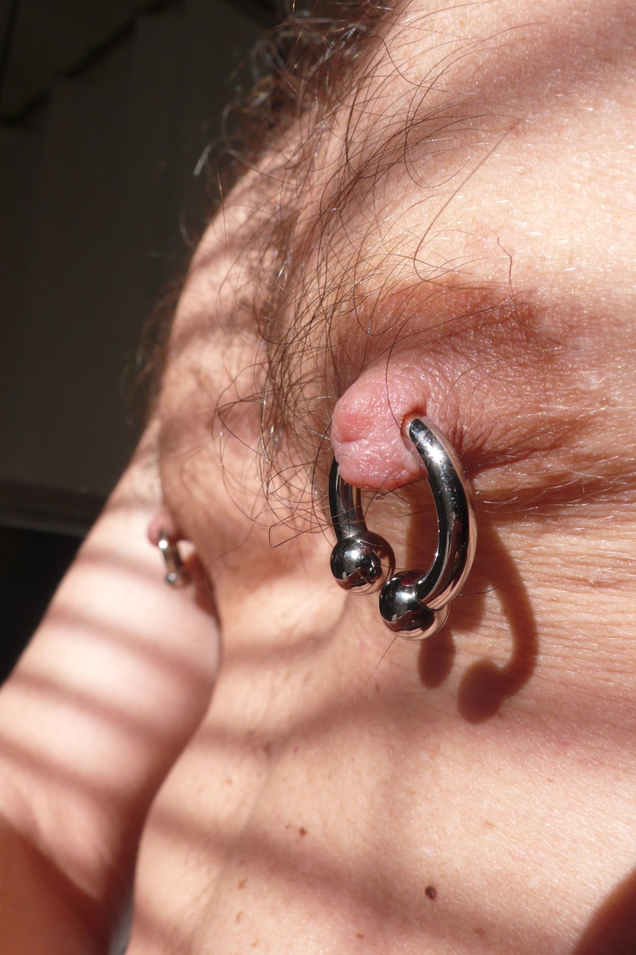 Pin By Scott Mixon On Mens Nipple Piercings  Piercings -1775