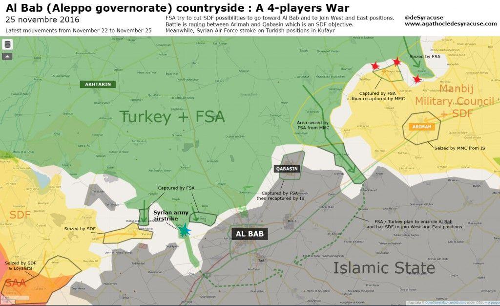 Risultati immagini per al-bab november 2016 map