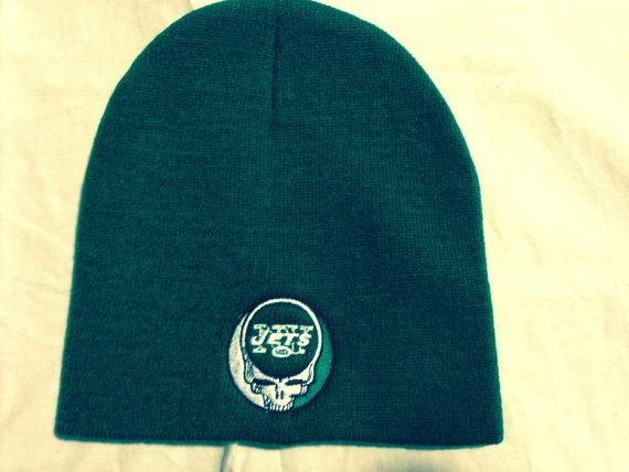 Winter Beanie Steal Your Face   NY Jets  cf55442174b7