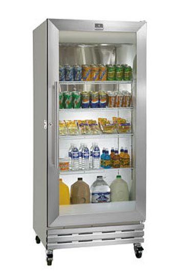 U Star Usrf 1d 19 29 Solid Door Economy Reach In Refrigerator 19 Cu Ft Glass Door Fridge Glass Door Refrigerator Glass Door