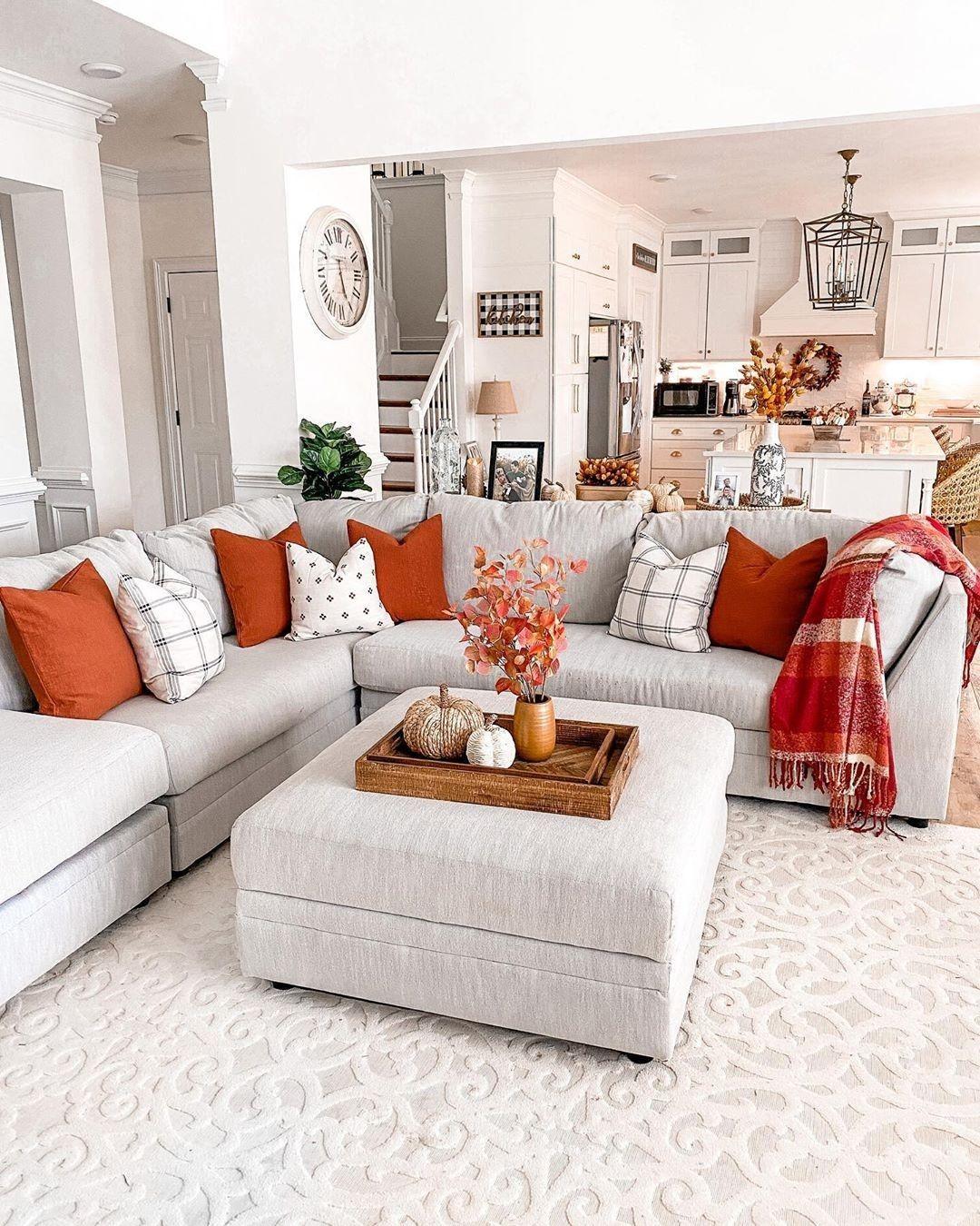 Fall Living Room Idea In 2020 Fall Living Room Fall Living