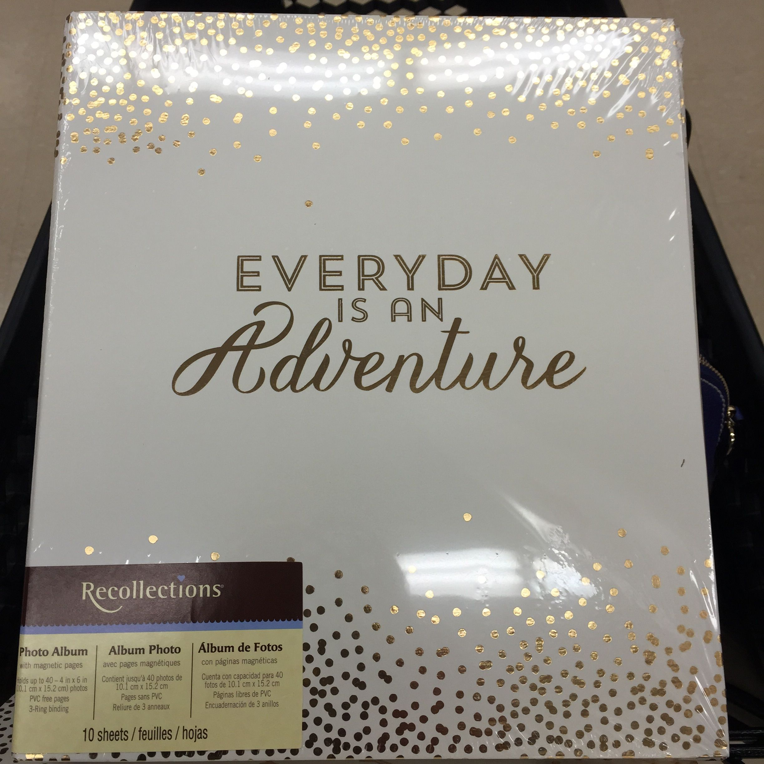 Recollections 3 ring binder found at Michaels
