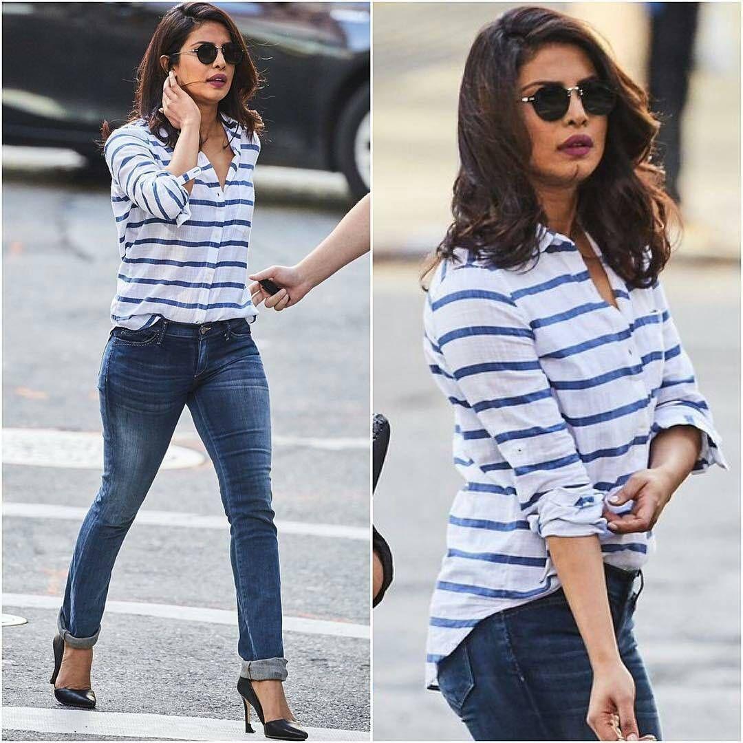 Priyanka Chopra 39 S Casual Look Bollywood Stars Casual Look Pinterest Priyanka Chopra
