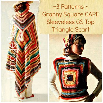 Pin By Bluebel L On Original Fashion Pinterest Granny Square
