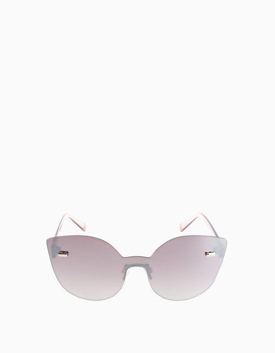 5089e759446af8 Randlose Cat eye-Brille - Brillen