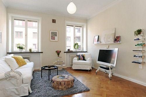 Apartamento Pequeño Refinado y Funcional Flats, Modern and Diy