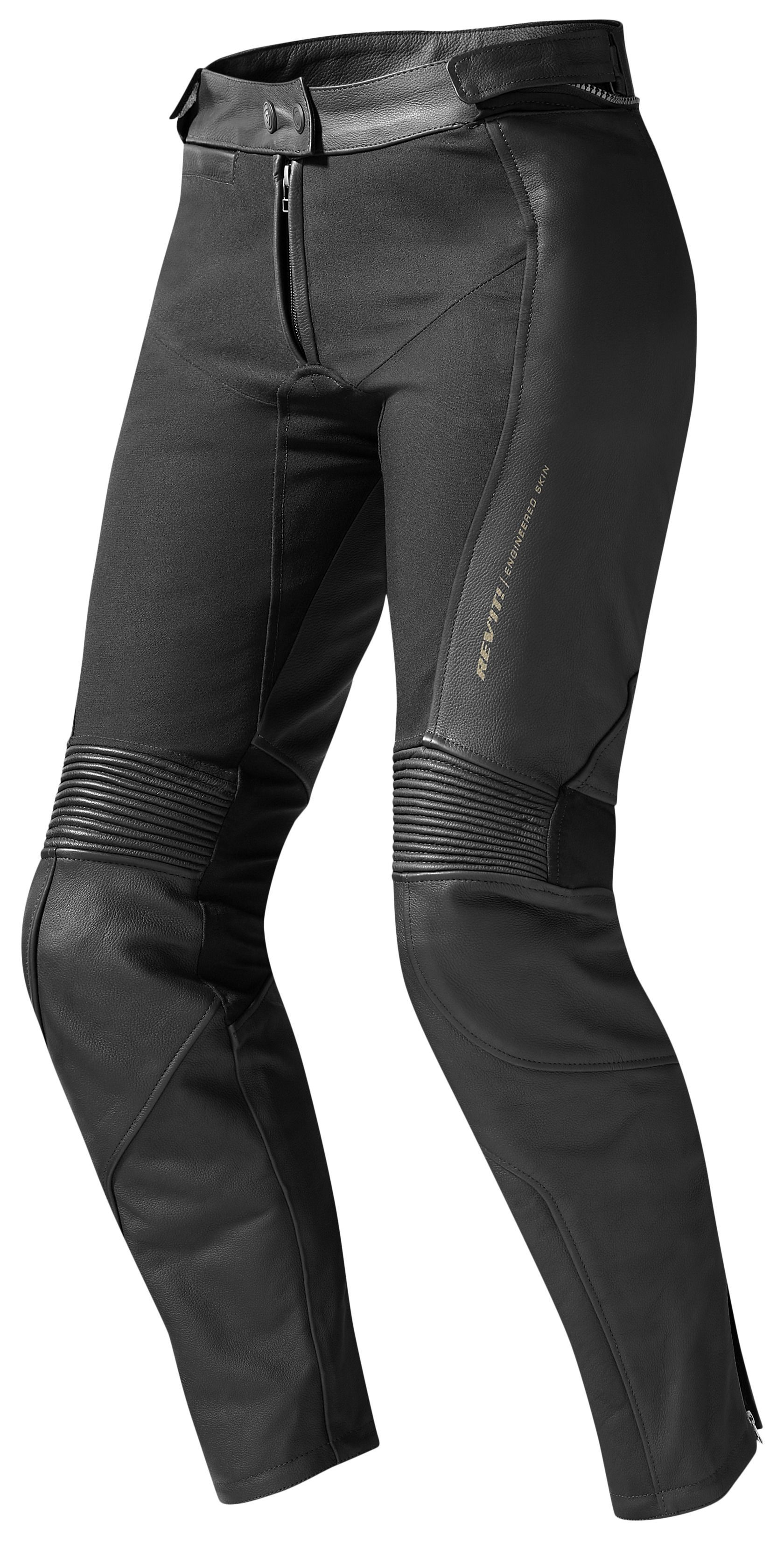 BLACK MEN/'S MOTORCYCLE LEATHER TROUSER MOTORBIKE PANT LEATHER TROUSER XS-4XL