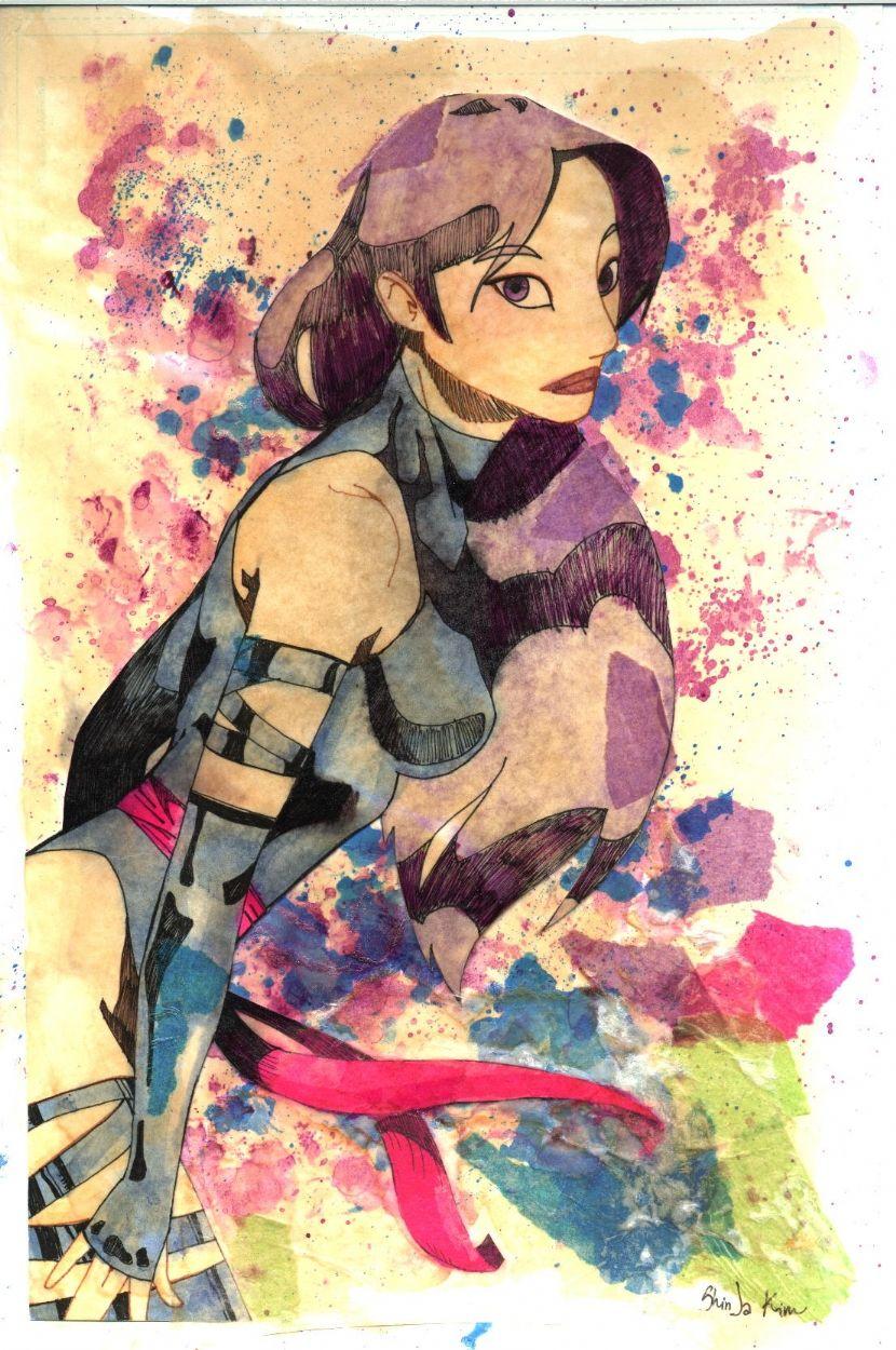 Psylocke byShinJa Kim
