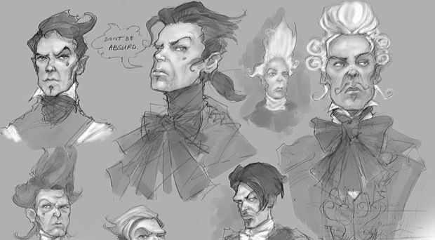 Early Reaver Concepts For Fable Ii Fable Ii Character Design Art