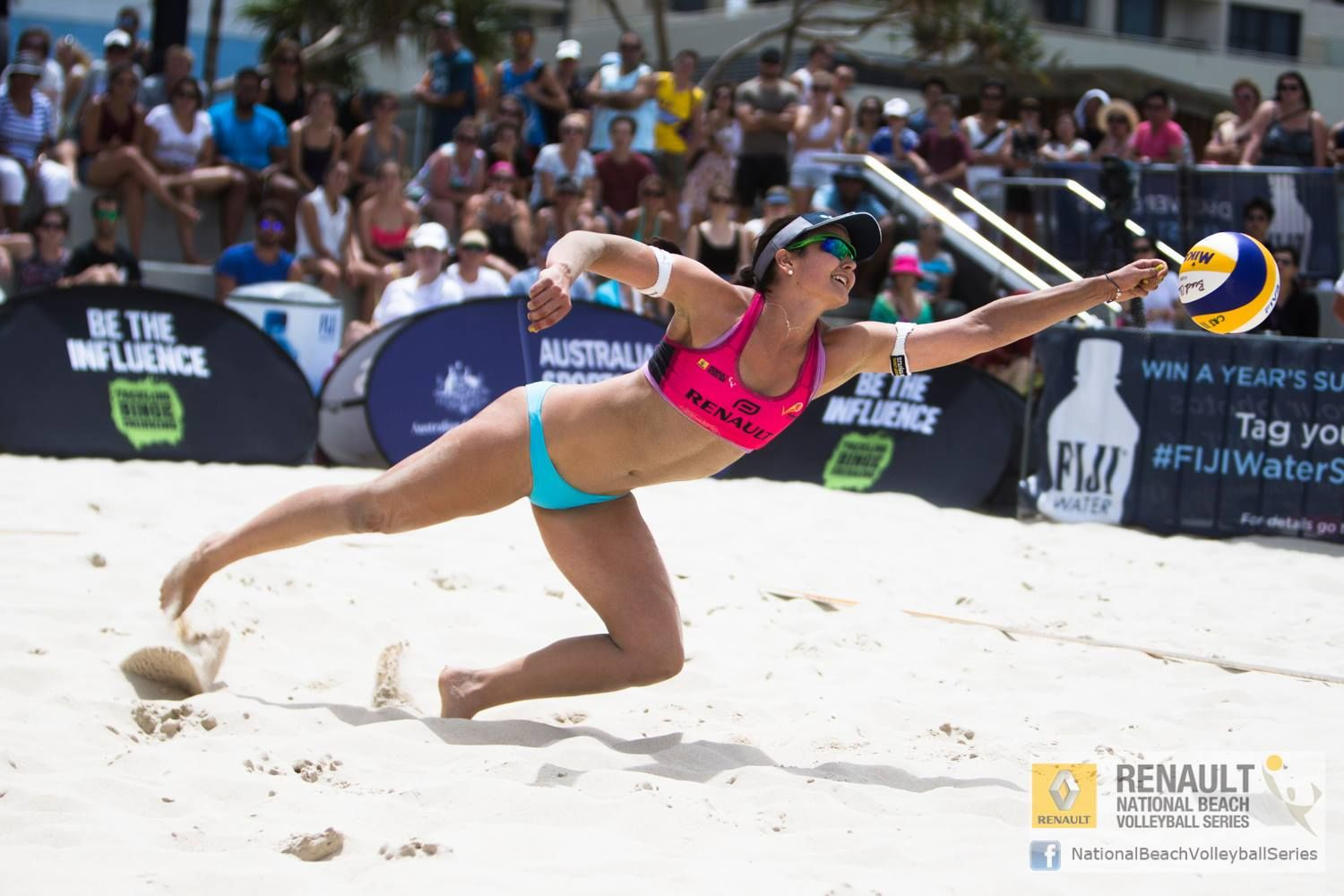 Becchara Palmer Part Of The Kingdom S Pro Beach Volleyball Team Team Palmerstone Flying Through The Air Gold Co Beach Volleyball Volleyball Volleyball Team