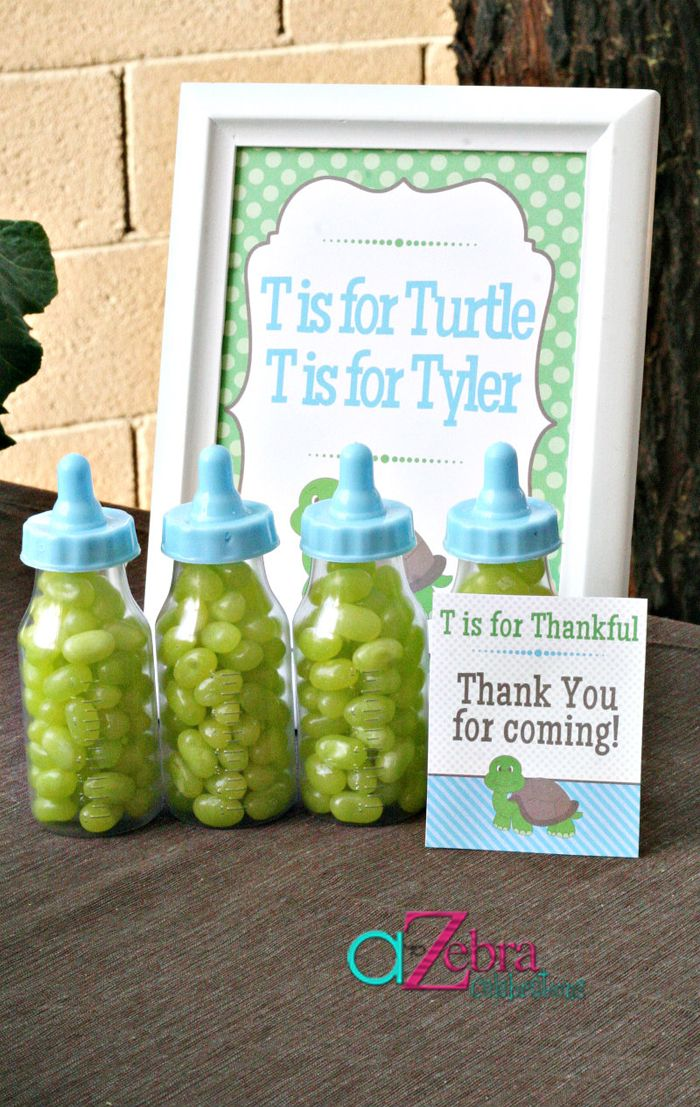 Turtle Themed Baby Shower Ideas | Eventos especiales ...