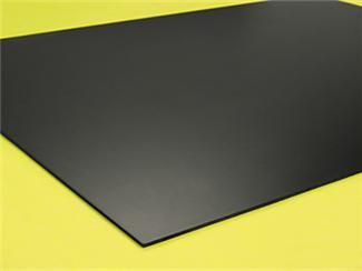 Black Styrene Plastic 11 Inches Wide X 14 Inches Long X 060 Inch Thick 1 Sheet Styrene Plastic Styrene Sheet