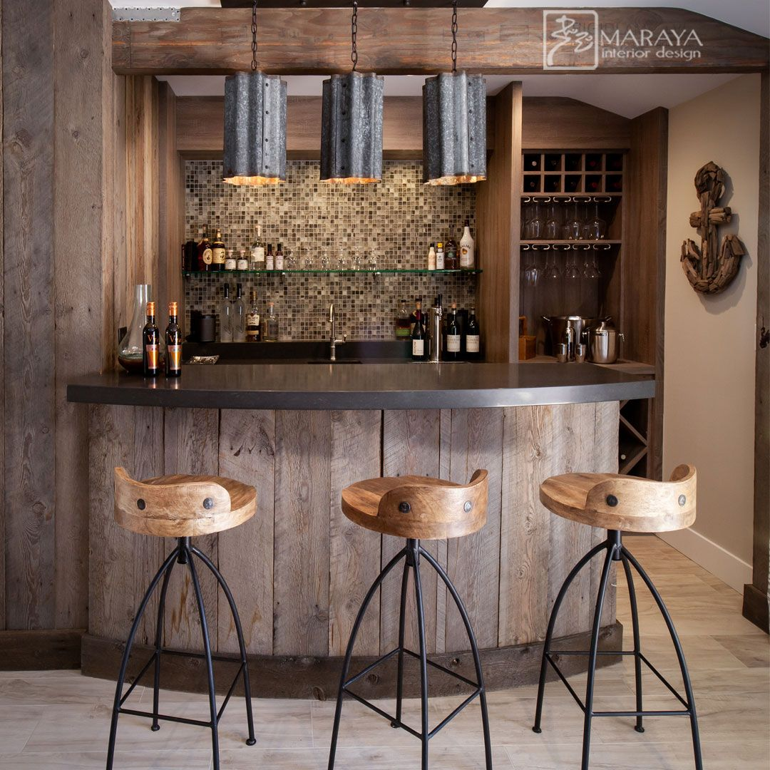 Interior Design Ideas Home Bar: Rustic Modern Beach Bar By Maraya Interior Design