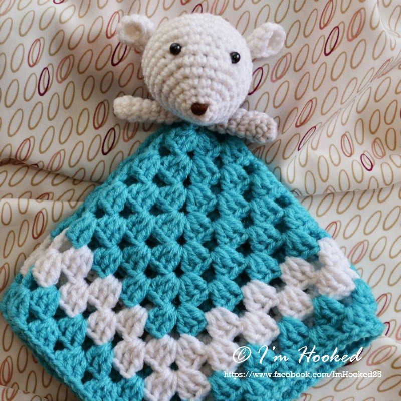 crochet lovey, free pattern | Crochet baby | Pinterest | Manta ...