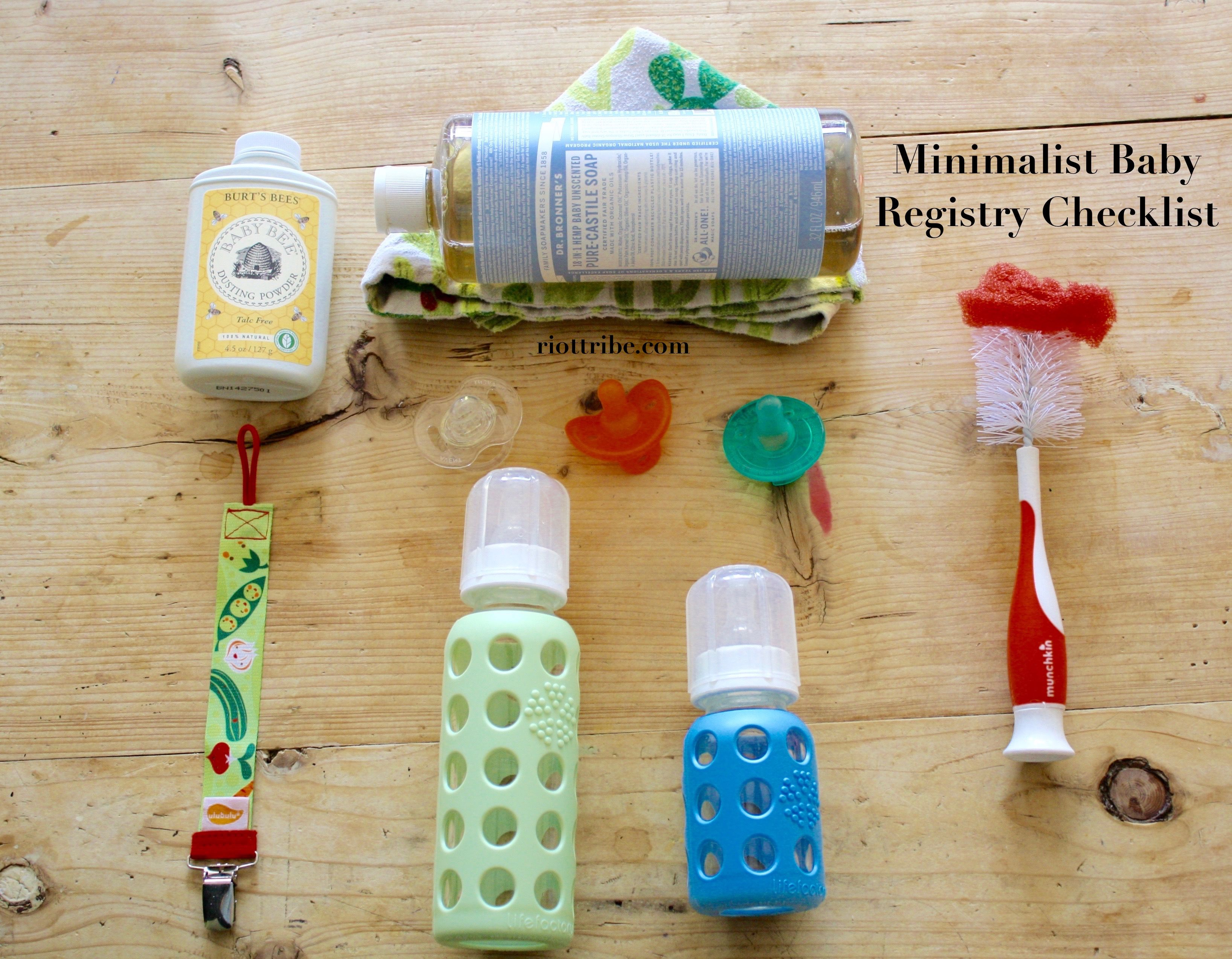 The Minimalist Baby Registry Checklist What You Really Need Free