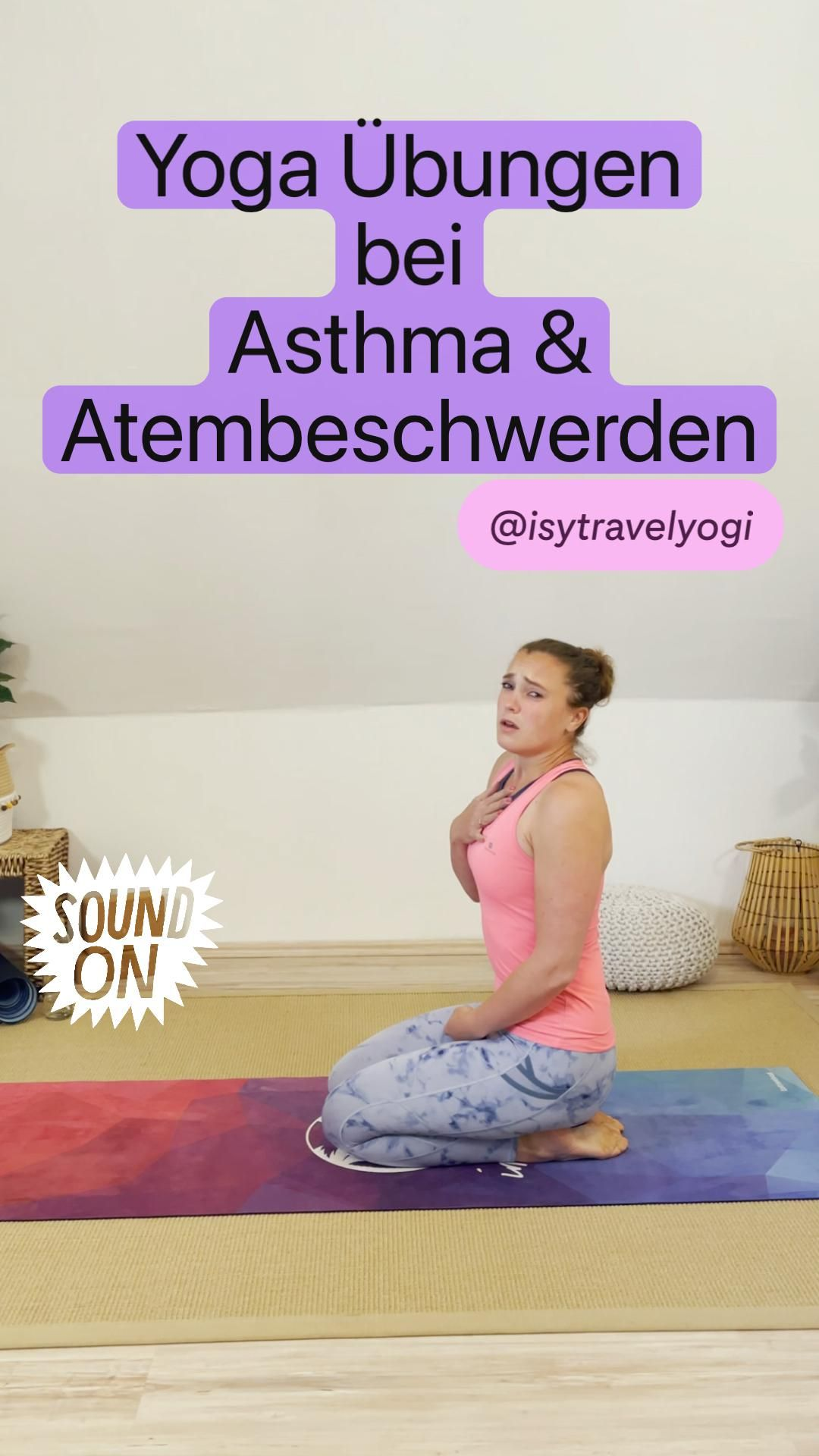 Yoga Übungen bei Asthma & Atembeschwerden Eine umfangreiche ...