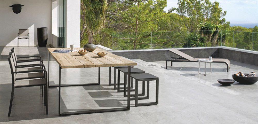 Moderner Gartentisch Prato Manutti Moderne Gartentische