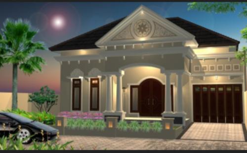 Gambar Rumah Mewah 1 Lantai Terbaru Denah Rumah Minimalis