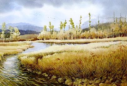 Nancy Taylor Stonington WATERCOLOR