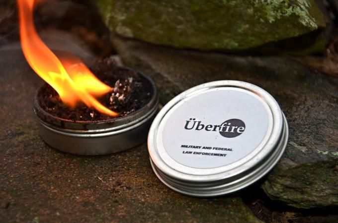 Survival Gear Review: Überfire Fire Starter | Outdoor Life --by Tim MacWelch on October 10, 2014