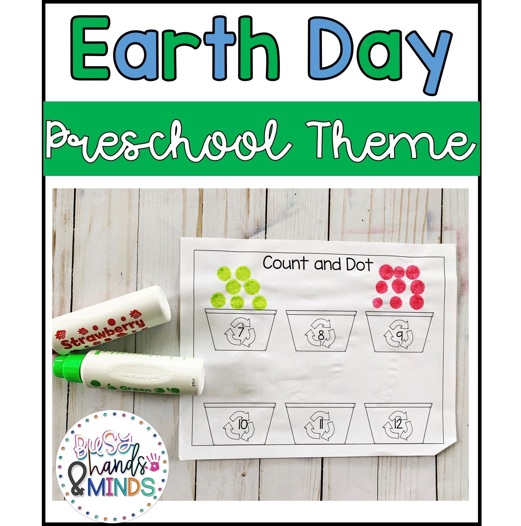 Earth Day Preschool Theme In