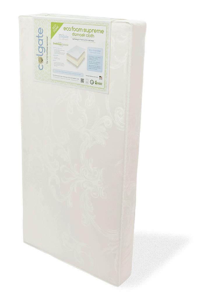 Eco Foam Supreme Crib Mattress Colgate Mattress Products