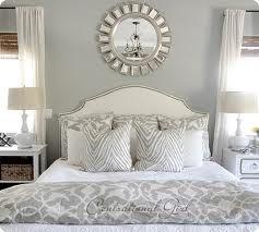 Sunburst Mirror Above Bed Home Bedroom Master Bedroom