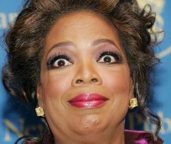 One of the many faces of Oprah Winfrey. | Oprah winfrey, Oprah ...